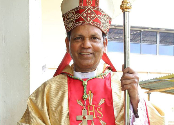 His Excellency Rt. Rev. Dr. Vincent Samuel S.T.D.
